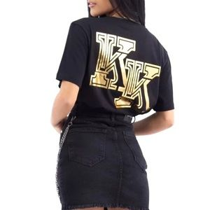 NWT Kendall + Kylie For OVS Graphic Tee Shirt